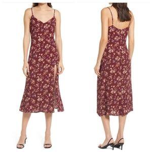 Reformation Crimini floral dress